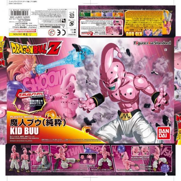 Kid Buu - Figure-rise Standard Model Kit - Dragon Ball Z Churete