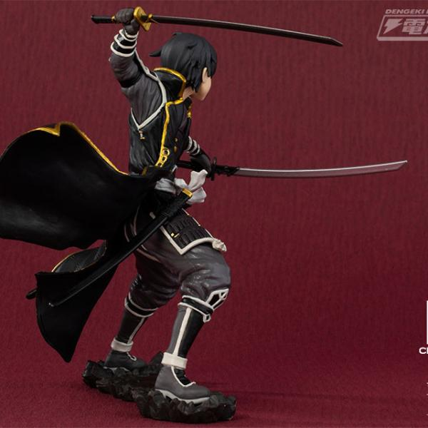 Kirito Gokai - EXQ Figure - Sword Art Online Code Register Churete