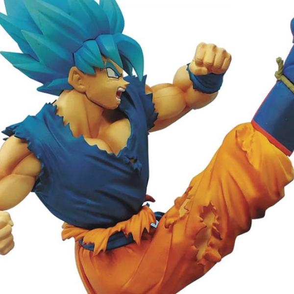 Son Goku SSJ Blue - Dragon Ball Super Broly Warriors Battle Retsuden Z Churete