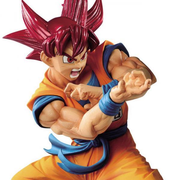 Son Goku SSJ God - Blood of Saiyans - Dragon Ball Churete