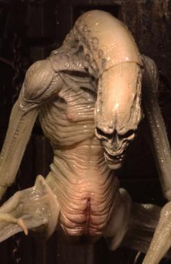 Alien: Resurrection Newborn Deluxe Action Figure - NECA Churete