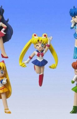 Bishoujo Senshi Sailor Moon Sailor Swing Keychain (Bandai) - Bishoujo Senshi Sailor Moon Churete
