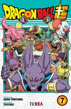 Dragon Ball Super 07 - Editorial Ivrea - Argentina Churete