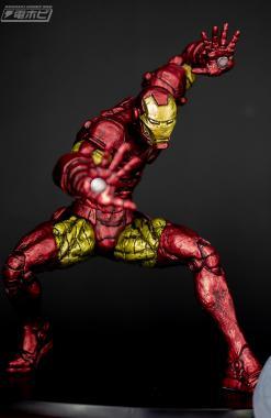 Iron Man Japanese Traditional Color - Marvel Choujin Giga - Iron Man Churete
