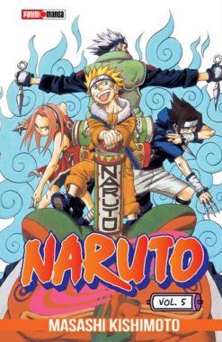 Naruto 05 - Panini Manga - Argentina Churete