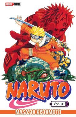 Naruto 08 - Panini Manga - Argentina Churete