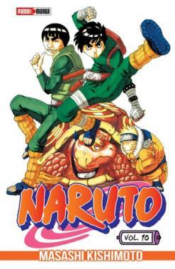 Naruto 10 - Panini Manga - Argentina Churete