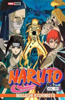 Naruto 55 - Panini Manga - Argentina Churete