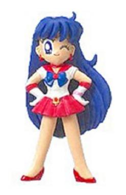 Sailor Mars - Bishoujo Senshi Sailor Moon Sailor Swing Keychain (Bandai) - Bishoujo Senshi Sailor Moon Churete