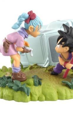 Son Goku & Bulma - Dragon Ball Imagination 10 Churete