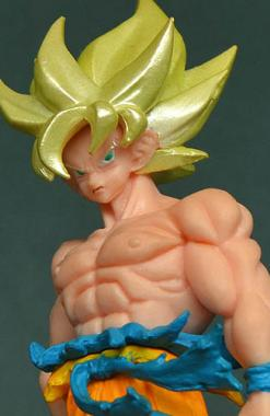Son Goku SSJ - Dragon Ball HGR 01 Churete