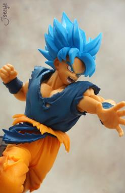 Son Goku SSJ Blue - Dragon Ball Super Ultimate Soldiers Churete