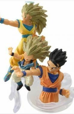 Son Goku SSJ3, Son Gohan & Gotenks SSJ3 - Dragon Ball Imagination 10 Churete