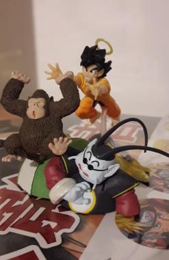 Son Goku, Bubbles & Kaio Sama - Dragon Ball Imagination 9 Churete