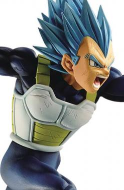Vegeta SSJ Blue - Dragon Ball Super Broly Warriors Battle Retsuden Z Churete
