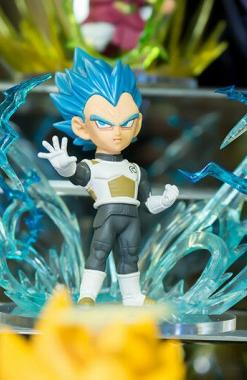 Vegeta SSJ Blue - Dragon Ball Super World Collectable Figure (WCF) Burst Churete