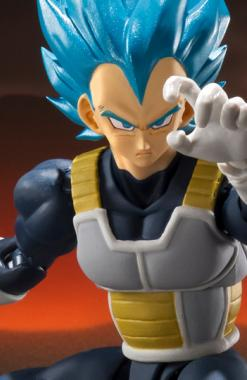 Vegeta SSJ Blue - S.H. Figuarts - Dragon Ball Super Churete