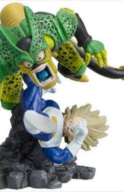 Vegeta SSJ VS Cell Dragon Ball Imagination 9 Churete
