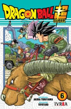 Dragon Ball Super 06 - Editorial Ivrea - Argentina